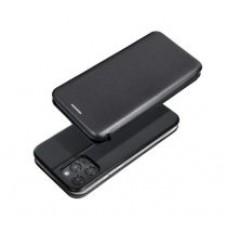 Samsung A52 4G/5G oldalra nyíló flip tok, fekete