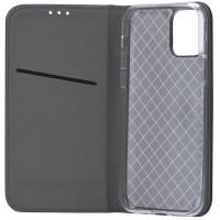 Samsung A52 oldalra nyíló tok, fekete