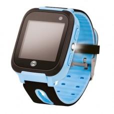 Forever gyerek Bluetooth-OS okosóra, LBS nyomonkövetéssel, SOS segélyhívással kék