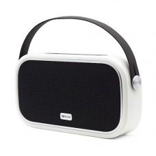 Forever BS-660 Bluetooth 5.0 sztereó hangszóró, micro SD olvasóval, AUX, 10W fekete - ezüst