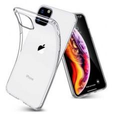 Iphone 11 ütésálló, átlátszó szilikon tok