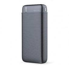 Power bank 1x USB foglalattal 20000mAh fekete (max 2,1A)