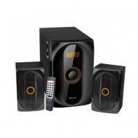 MS300 2.1 multimédia hangfal szett távirányítóval Bluetooth/FM/USB/kártyaolvasó 40W
