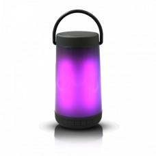 Platinet PMG15 bluetooth hangszóró, 5W, színes LED, BR V4.2+EDR, FM, AUX, USB, MicroSD, fekete